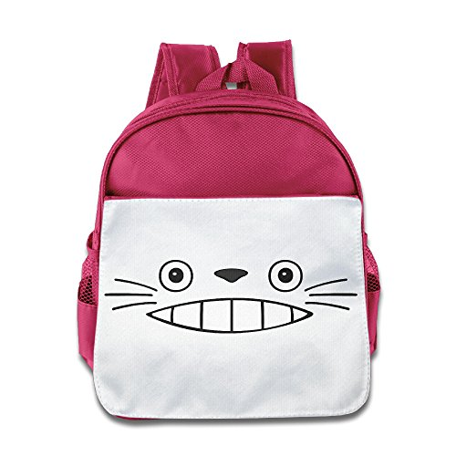 Kids Happy Halloween Totoro Book Bag Baby Girls Boys Pink
