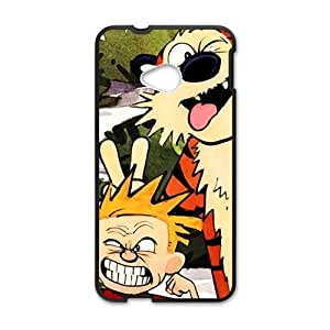 Naughty tiger and boy Cell Phone Case for HTC One M7
