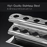 Stainless Steel Razor Stand/Toothbrush