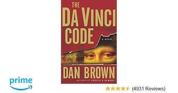 Amazon The Da Vinci Code 0000385504209 Dan Brown Books