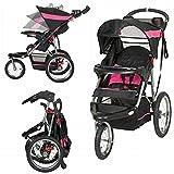 Baby Pram Stroller Easy Fold 3 Wheel Best Designer Pushchairs Jogger for Newborn Girl Carriage and eBook by NAKSHOP
