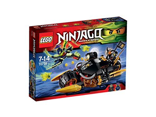 - LEGO New Ninjago 70733 Blaster Bike 2015