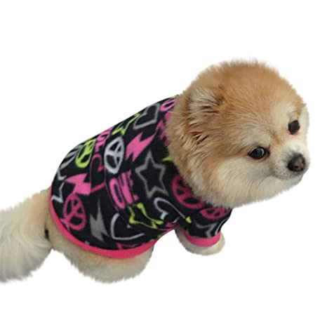 Amazon.com : BingYELH Pet Clothes, Puppy Winter Sweater Polar Fleece Soft T Shirts Dog Classic Sweatshirt Outfit : Pet Supplies