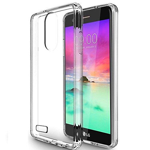 LG Stylo 3 Case,LG Stylo 3 Plus Case,Asmart Shockproof Durable Slim Thin Fit TPU Grip Bumper Clear Hard Acrylic Backplate [See-through] Hybrid Phone Case Cover for LG Stylo 3 Plus (Clear)