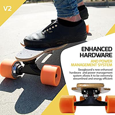 SWAGTRON SwagBoard NG-1 Youth Electric Longboard V2 from Swagtron