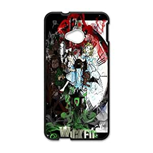 Personalized Durable Cases HTC One M7 Black Phone Case Oytrw Musical Wicked Protection Cover