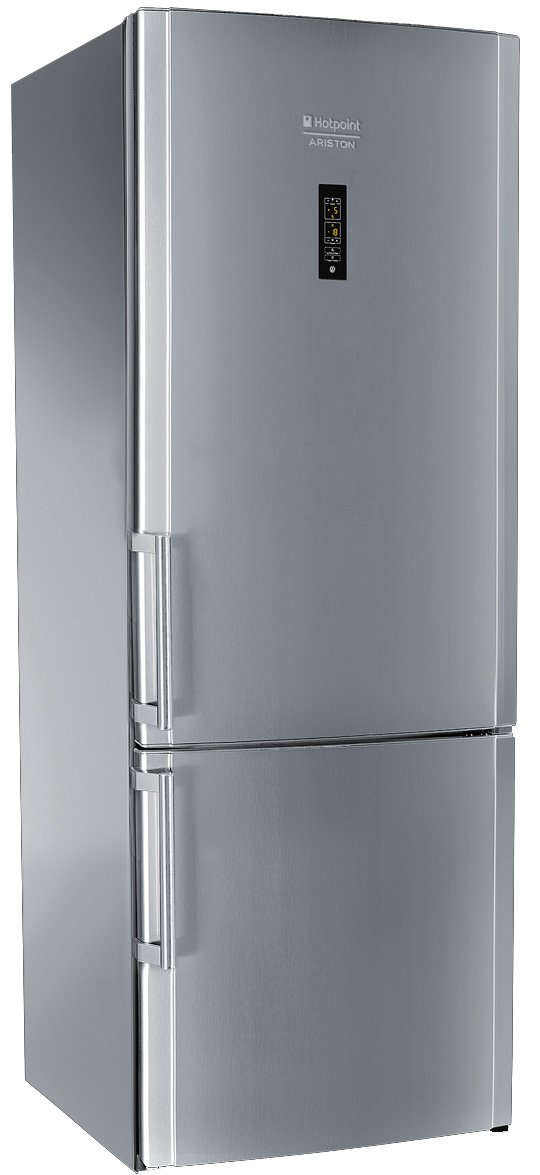 Hotpoint E2BYH 19323 F O3 Freestanding 433L A++ Stainless steel ...