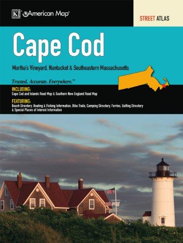 Cape Cod, MA Atlas by American Map