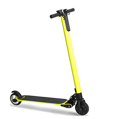 Eléctrica Plegable Kick Scooter Plegable de Fibra de Carbono ...