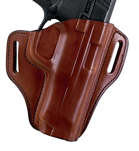 Bianchi Leather Belt Slide Holster #57 Remedy Right Hand, Gl