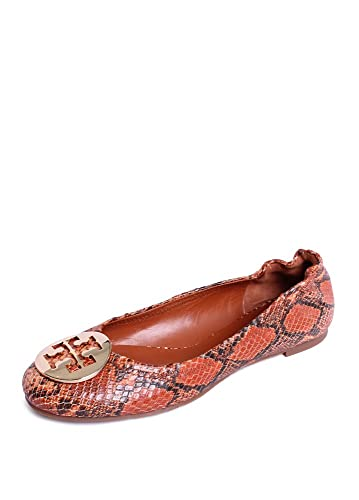 bfa3bda91994 Image Unavailable. Image not available for. Color  Tory Burch Reva Ballet  Flat ...