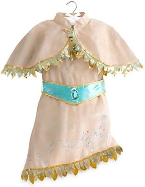 Disfraz de Pocahontas de Disney Store, para niñas pequeñas, Talla ...