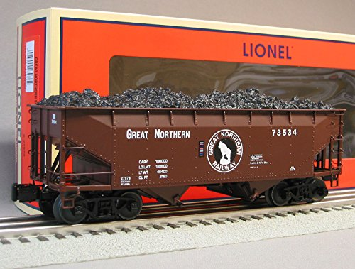 LIONEL GREAT NORTHERN SCALE OFFSET HOPPER train heavy weight car 6-27978 -  Lionel Trains