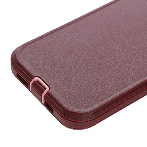 Co-Goldguard Phone Case Compatible with iPhone 12,Compatible with iPhone 12 Pro,Drop Protection Heavy Duty Hard 3 Layer Hybrid Strong Shockproof Scratch-Resistant Covers Durable Shell,Purple