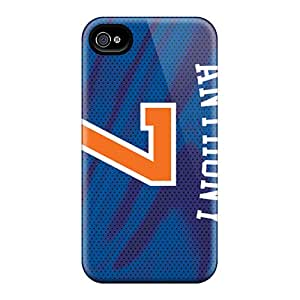 Protective Cell-phone Hard Covers For Iphone 6 With Custom Realistic New York Knicks Series LauraAdamicska