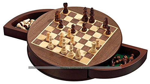 (Philos Rounded Magnetic Chess Cabinet - 30cm)