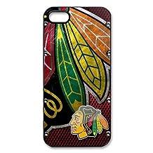 Generic NHL Chicago Blackhawks Back Phone Case for iPhone 5/5S