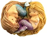 Top Collection Miniature Fairy Garden and Terrarium Sleeping Little Mermaid Friends For Sale