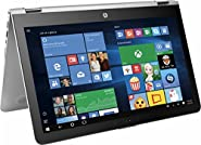 """HP Newest ENVY x360 2-in-1 Convertible 15.6"""" Full HD Touchscreen Backlit Keyboard Flagship Premium Laptop PC, Intel Core i5-7200U Dual-Core, 12GB DDR4, 1TB HDD, Stereo speakers, Windows 10 (Silver)"""