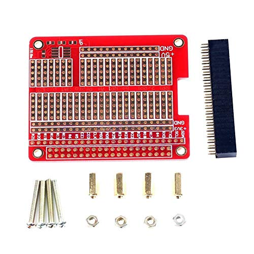 Nrpfell for Raspberry Pi 3 Module B HOED/Gat Plaat Prototyping Board PI3/PI2 HAT/Hole Plate W/Prototyping Board DIY Kit