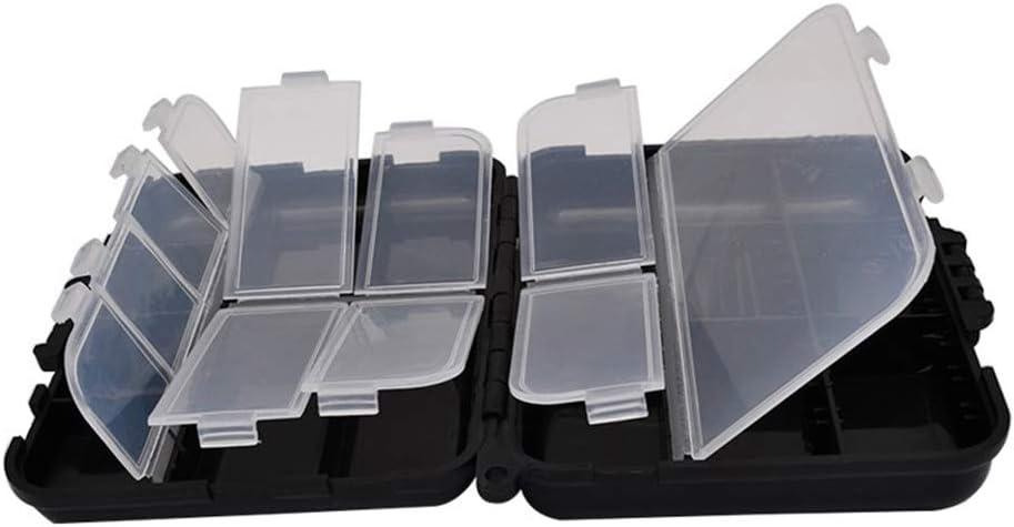 K/öderbox f/ür Blinker /& Wobbler Angelbox f/ür Angelk/öder Junejour K/öderbox Tacklebox Angelbox Kunststoff f/ür Kunstk/öder Baitbox