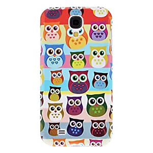 Colorful Owl Pattern TPU Soft Case for Samsung Galaxy S4 I9500
