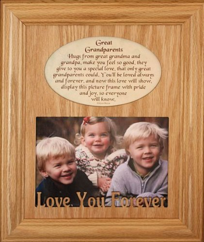 Amazoncom Joyceboycecom 8x10 Great Grandparents Laser Photo
