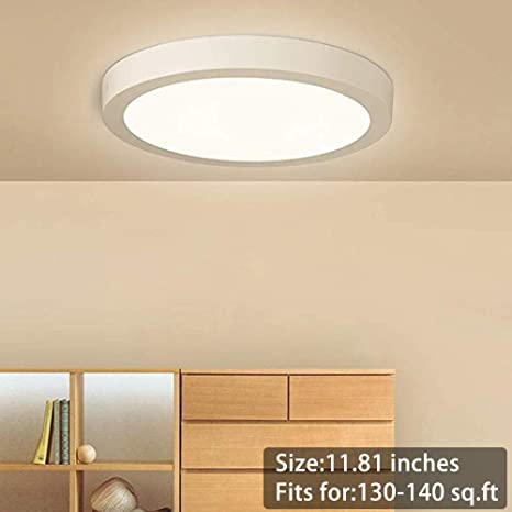 1-10x 12W 18W 24W LED Surface Mount Ceiling Panel Down Lights Bulb Lamp Fixture