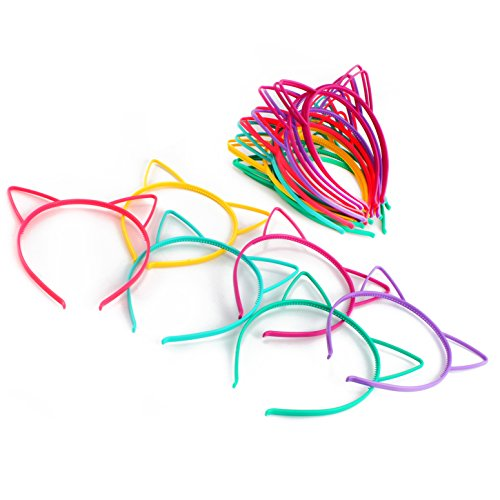 cat-ear-headbands-24-pcs-6-colors-hair-accessory-party-favor-dress-up-costume