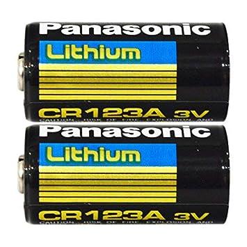 Amazon.com: Batería de litio CR123 3V, 4330202636 ...