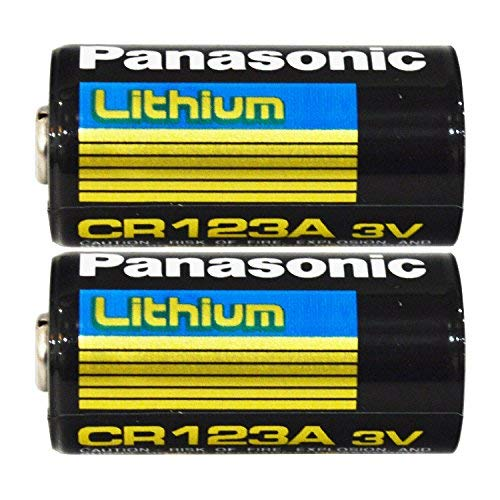Panasonic 30212 Lithium 3V Photo Lithium Battery cr123 Double Pack