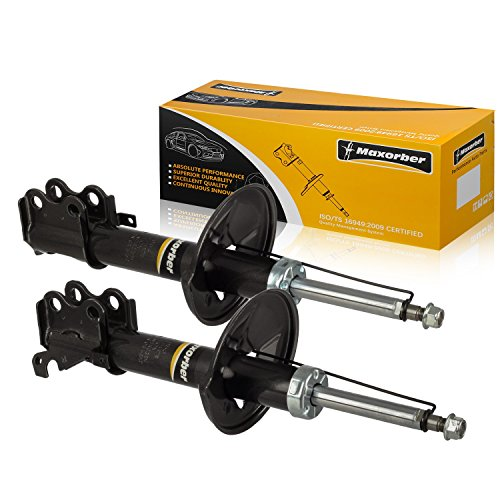 Maxorber Front Set Shocks Struts Absorber Kit Compatible with Toyota Paseo 1992-1994 Shock Absorber Replacement for Toyota Tercel 91-94 Shock Set 234053 234054 71898 71899