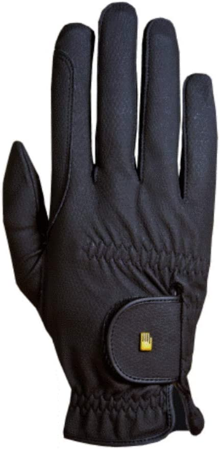 Roeckl Roeck-Grip Unisex Gloves 7.5 Black