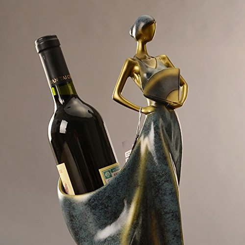 The living room beauty wine decorations Wine wine shelf crafts furnishings zj01251004