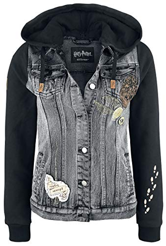 Denim Swear Chaqueta Harry Tejana I Potter Negro Solemnly YSwT4q