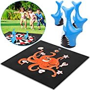 U UZOPI Outdoor Games for Family - Yard Games and Fun Family Games for Kids and Adults, Lawn Darts Outside Gam
