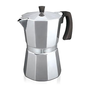 Monix Vitromax Induction 12 - Cafetera (Aluminio, Estufa, De café molido, Café expreso, Café expreso): Amazon.es: Hogar