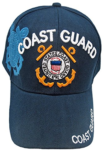 - Buy Caps and Hats Blue US COAST GUARD Cap, Adjustable Embroidered USCG Baseball Hat with Official BCAH Sticker