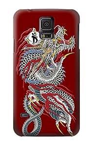 S2104 Yakuza Dragon Tattoo Case Cover For Samsung Galaxy S5