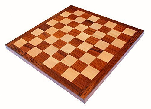 - StonKraft Wooden Chess Board Without Pieces for Professional Chess Players - Appropriate Wooden & Brass Chess Pieces Chessmen Available Separately by Brand (16x16 Rosewood)
