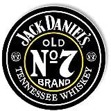 Jack Daniel's Old No. 7 - Large Aluminum Sign - 35'' Diameter