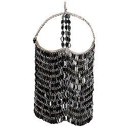 Black Masquerade Mask Chain