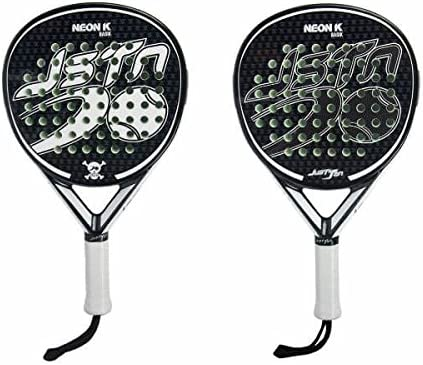 Pala Padel Just Ten Neon K Basik: Amazon.es: Deportes y aire libre