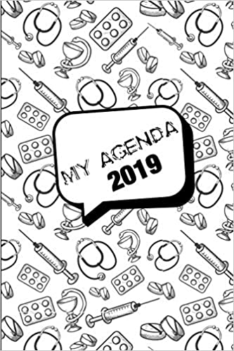 My Agenda 2019: Agenda Mensual y Semanal + Organizador I ...