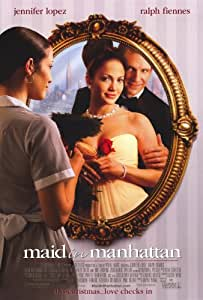 Amazon Com Maid In Manhattan Poster Movie 11x17 Jennifer