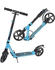 Apollo 200mm Wheel City Scooter -Spectre Pro City Step met Dubbele Vering - City-Step Opbouwbaar en in Hoogte Verstelbaar - Step voor Volwassenen en Kinderen