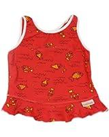 Imse Vimse Swim Tankini Tops - SM/MD 13-22 lbs - Red Fish