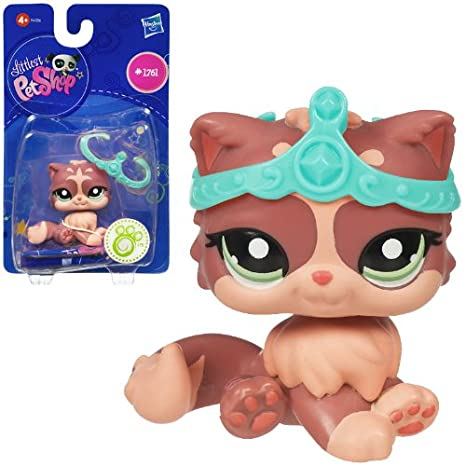Littlest Pet Shop Hasbro Mascotas pet shop B Gato - Mascota de juguete coleccionable: Amazon.es: Juguetes y juegos