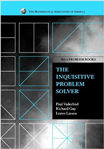 buy the inquisitive problem solver maa problem book series book  buy the inquisitive problem solver maa problem book series book online at low prices in the inquisitive problem solver maa problem book series