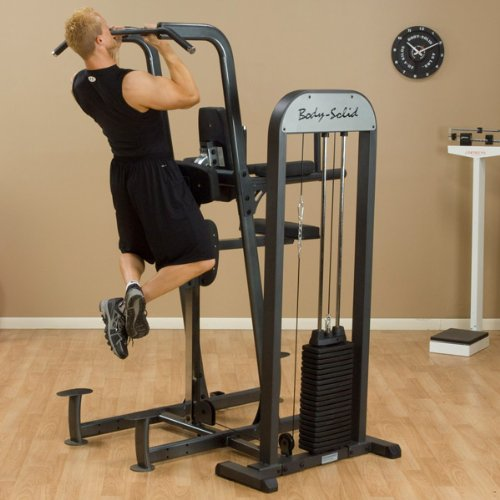 7a0bff65a79 Amazon.com   Body-Solid Weight Assisted Chin and Dip Machine   Sports    Outdoors